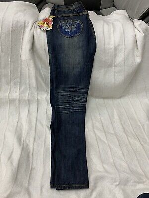 Apple Bottoms Designer Blue Jeans Size UK 14 / USA 9-10 / EU 42