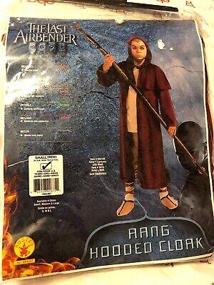 Avatar the Last Airbender Aang Hooded Cloak Halloween Costume Small - Aang Avatar Kostüm