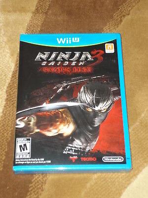 Ninja Gaiden 3: Razor's Edge  (Wii U, 2012) New in Wrap comprar usado  Enviando para Brazil