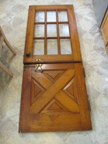 VINTAGE DUTCH DOOR EARLY TO MID CENTURY