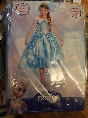 Girls Deluxe Blue Princess Elsa Disney Frozen fancy Halloween Order by Oct. 27th - Disney Princess Order