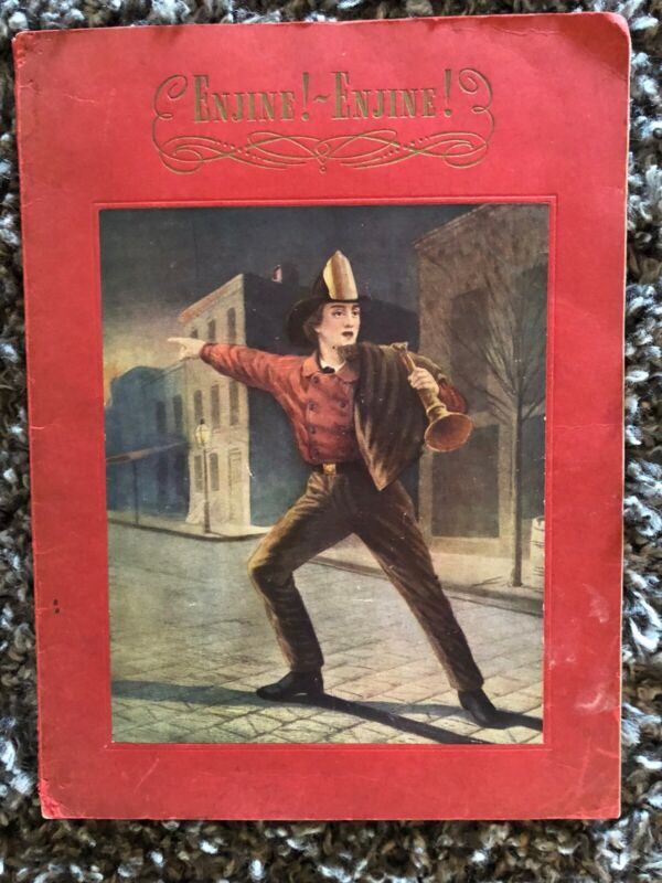"9"" x 12"" ENJINE! ENJINE 76 Page Softcover 1939 Book"