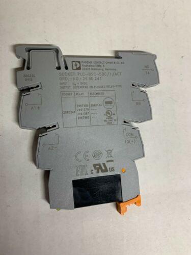 Phoenix Contact 2980144 PLC-OSC-5DC/24DC/2/AT (Lot of 5 pieces)
