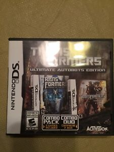 Nintendo DS. Transformers Combo Pack
