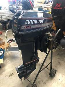 40HP Evinrude 2-Stroke Outboard Albion Park Rail Shellharbour Area Preview