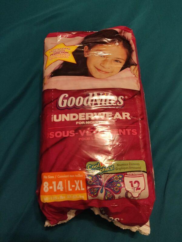 Vintage Girls Goodnites L/XL Sealed (Around 2012)