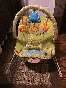 Fisher price bouncer- green meadow