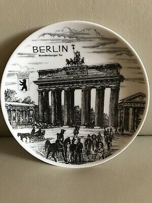 Schedel Bavaria Berlin Brandenburger Tor Collector's Plate