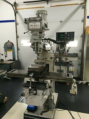 Vectrax Milling Machine Variable Speed 9 X 49 Table 3 Phase