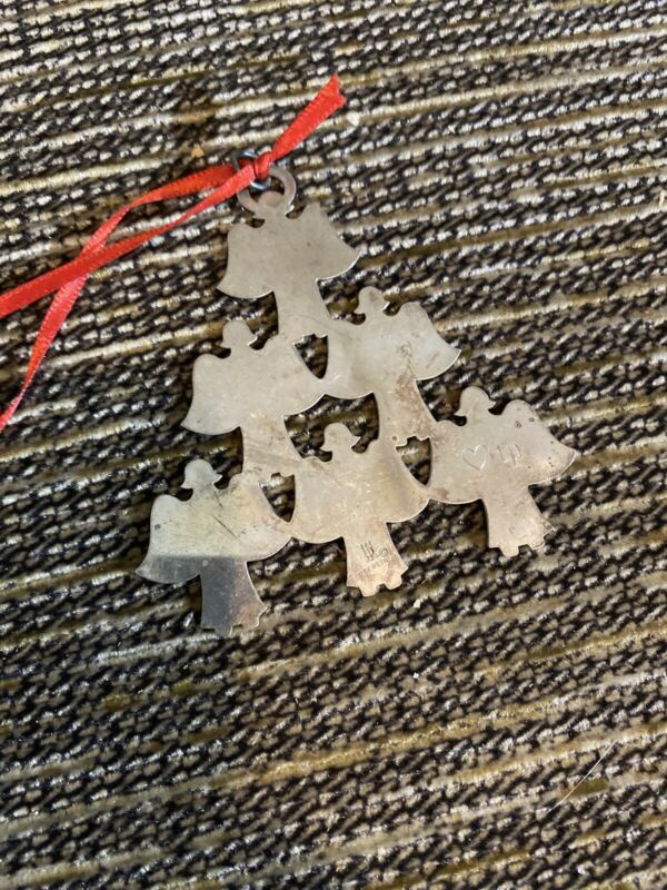 JAMES AVERY ANGEL CHRISTMAS TREE STERLING SILVER  ORNAMENT