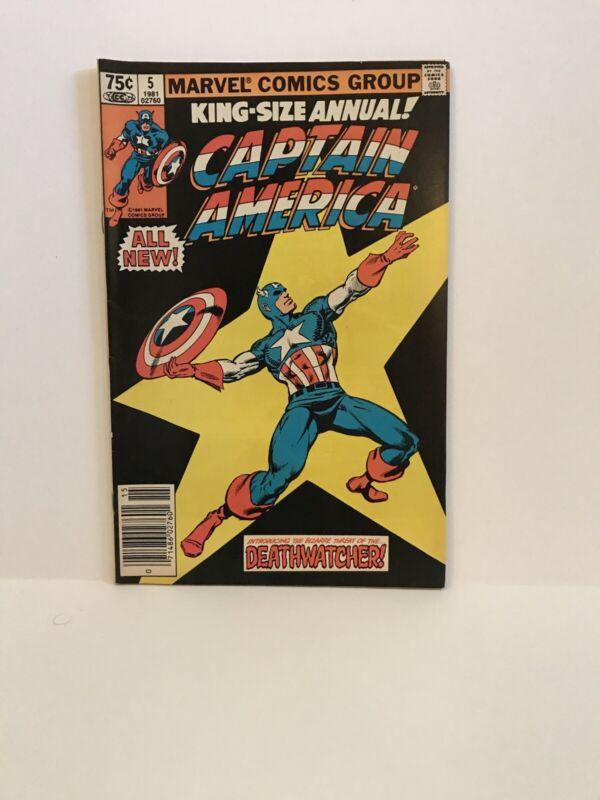 Captain America Annual #5