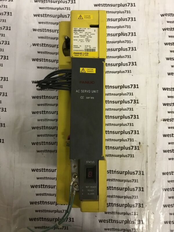 """FANUC SERVO AMPLIFIER A06B-6089-H104 """"USED"""""""