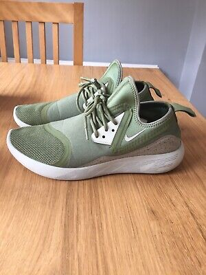 Mens Green Nike Trainers LUNARCHARGE ESSENTIAL Size 7.5 Khaki
