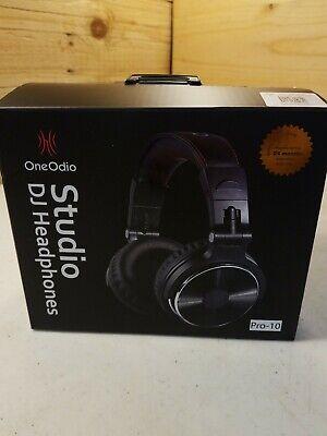 OneOdio Studio DJ Headphones Black Pro-10