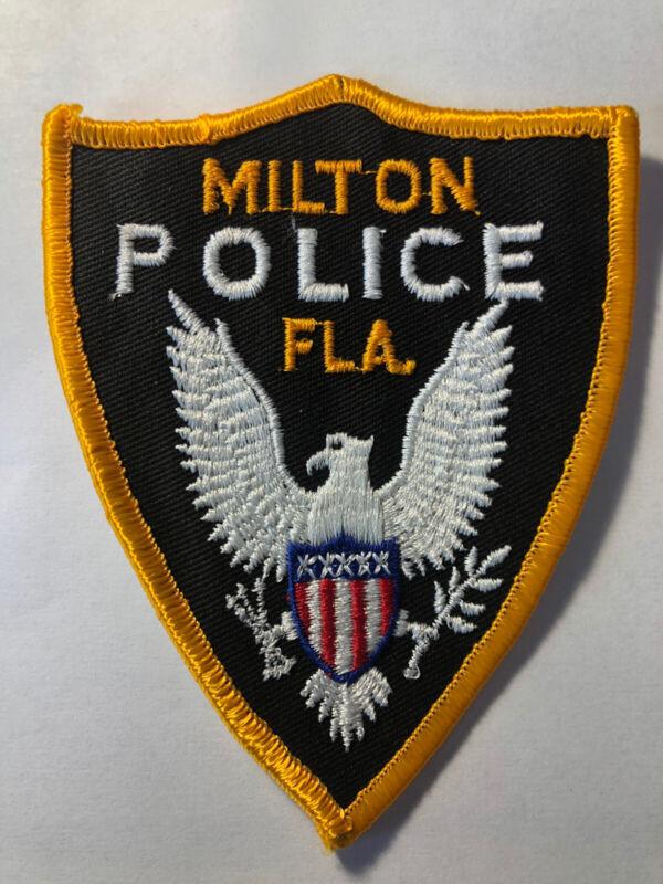 Vintage Milton Florida Police Patch