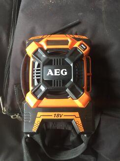 AEG 18V worksite radio