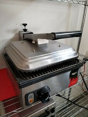 Vollrath Tsa 7309 40790 Cayenne Commercial Sandwich Panini Press Ribbed Nonstick