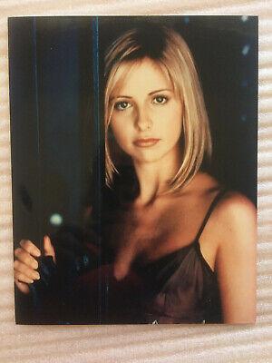 Sarah Michelle Gellar Buffy Vampire Slayer,  vintage headshot publicity photo