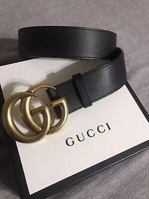 """Gucci Belt Marmont Size 85 1.5"""""""