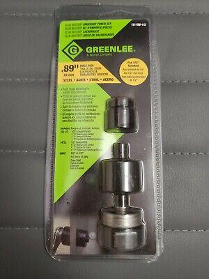 Greenlee Slug Buster Knockout Punch Set 7211bb-12