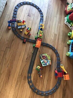 RETIRED LEGO Duplo Deluxe Train Trains Set 10508 used 100% complete GREAT Shape