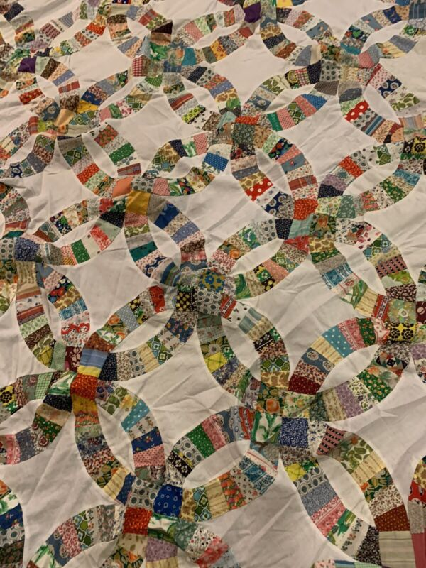 Hand Sewn Quilt Topper