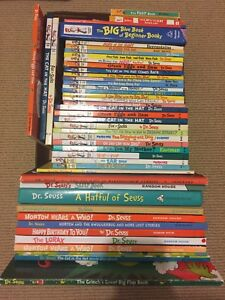 Dr. Seuss books available