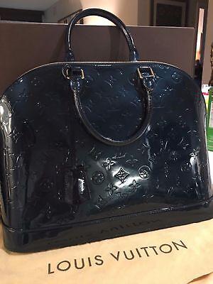 NEW LV - Louis Vuitton Alma PM/GM Vernis Handbag - Bleu