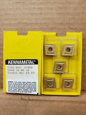 KENNAAMETAL CNMG 431 MP KC 8050 10 PIECE INSERTS