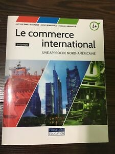 Manuel à vendre - Le commerce international