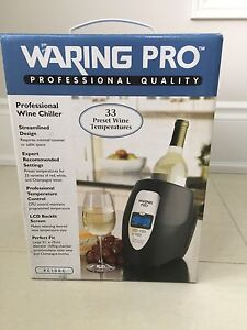 Brand New Waring Pro Professional Wine Chiller