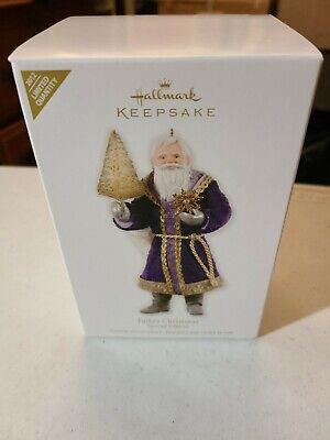 Father Christmas Special Edition 2012 Hallmark Keepsake Ornament NIB Free Ship!