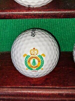 Pennhills Club Golf Course Logo Golf Ball. Bradford Pennsylvania Club Golf Course