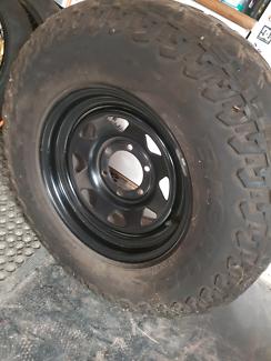 1 rim & mud tyre