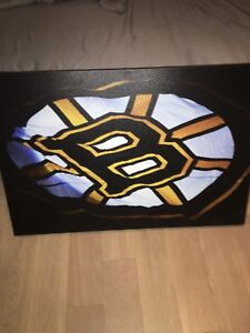 Boston Bruins thick banner