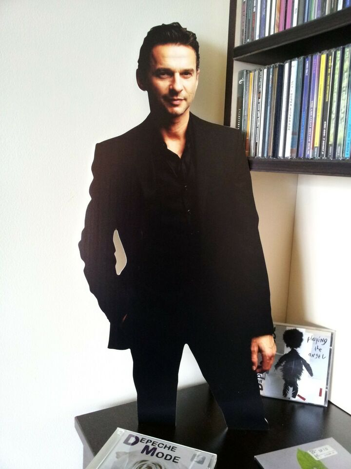 DAVE GAHAN Depeche Mode Display STAND Standee NEW Should Be Higher David Heaven