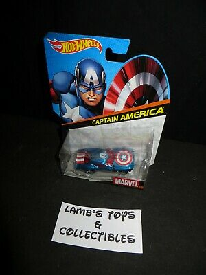 Hot Wheels Marvel Avengers Captain America muscle car 2014 diecast vehicle toy