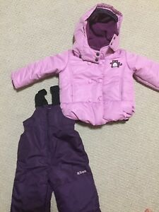 brand new girl snowsuit 2T