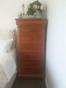 Solid Timber Lingerie Chest of Drawers Made in America Bundall Gold Coast City Preview