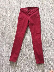 J Brand jeans rouge