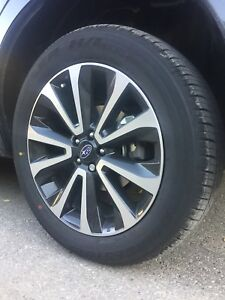 New Subaru Forester Rims and Tire