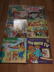 Berenstain Bears book set $5 for all 6