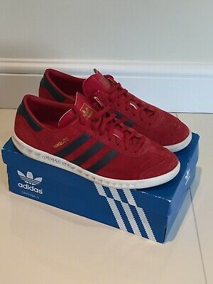 Adidas Originals Hamburg Trainers - Size UK 10
