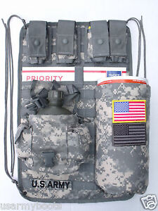 ACU-Military-Molle-ll-Vehicle-Panel-MVP-ATV-UTV-No-Canteen-Sustainment-Pouches