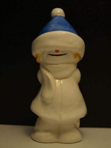 Goebel Whoosits Snow People Figurine W Germany Winter Holiday