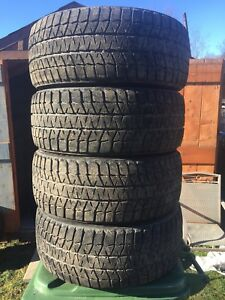 p235/45/17 inch inch Bridgestone Winter Tires / LOTS OF TREAD