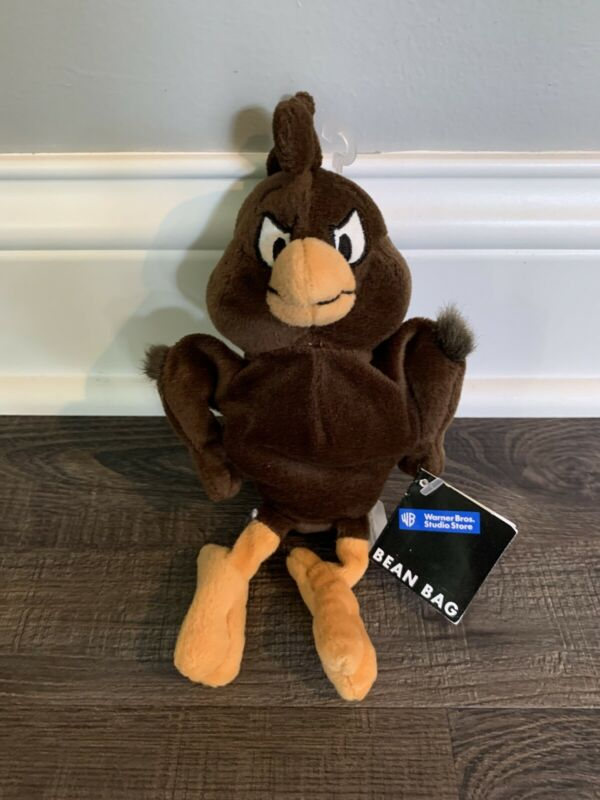"HENRY HAWK 7"" PLUSH BEANIE with Tags Warner Bros Studio Store. 1998"