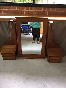 Dressing table mirror, stand  with draws Elderslie Camden Area Preview