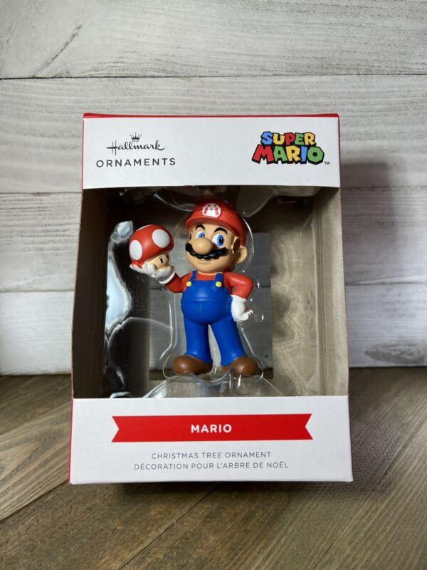 Nintendo Super Mario Bros. Hallmark MARIO Collectible Christmas Tree Ornament