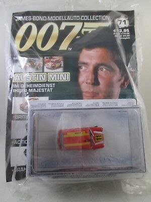 Eaglemoss - James Bond 007 Collection - Ausgabe 71 - Austin Mini  NEU / OVP